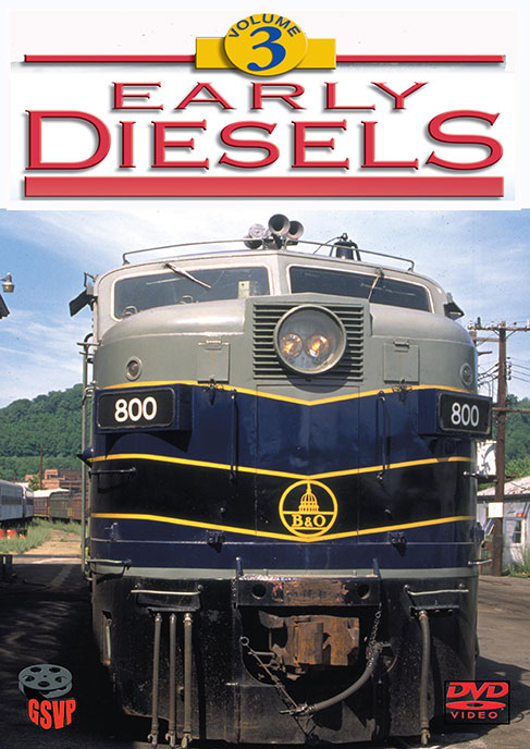 Early Diesels Volume 3 DVD Greg Scholl Video Productions GSVP-014 604435001498