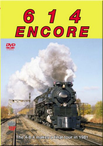 614 Encore - C&O DVD Train Video Greg Scholl Video Productions GSVP-037 604435003799