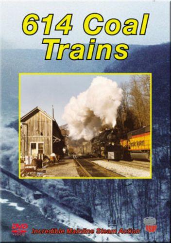 614 Coal Trains - C&O DVD Greg Scholl Video Productions GSVP-038 604435003898