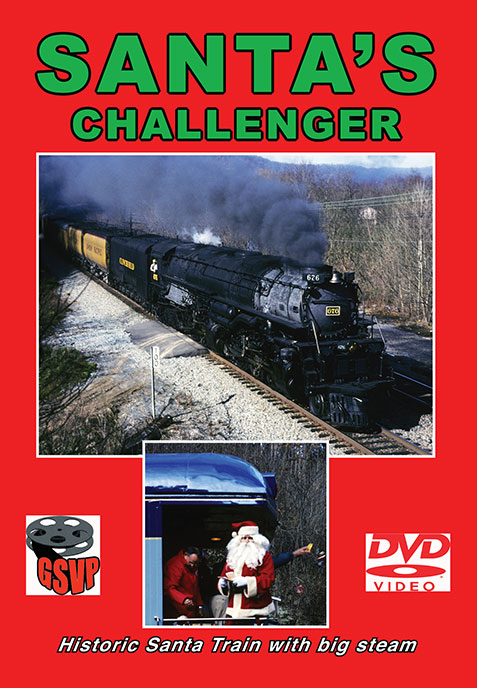 Santas Challenger DVD Train Video Greg Scholl Video Productions GSVP-039 604435003997