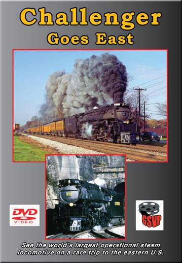 Challenger Goes East DVD Train Video Greg Scholl Video Productions GSVP-040 604435004093