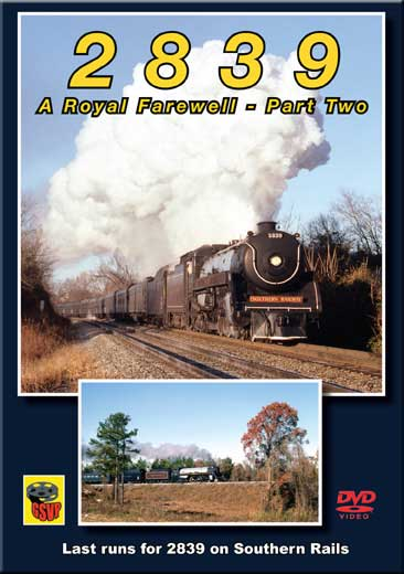 2839 A Royal Farewell - Part 2 DVD Greg Scholl Video Productions GSVP-042 604435004291