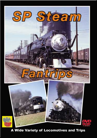 SP Steam Fantrips DVD Train Video Greg Scholl Video Productions GSVP-043 604435004390