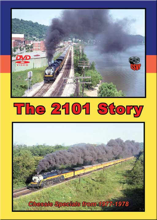 2101 Story DVD Train Video Greg Scholl Video Productions GSVP-045 604435004598