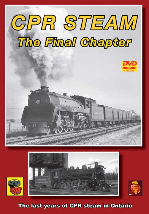 CPR Steam - The Final Chapter DVD Greg Scholl Video Productions GSVP-048 604435004697