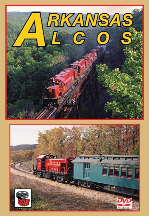 Arkansas Alcos DVD Train Video Greg Scholl Video Productions GSVP-051 604435005199