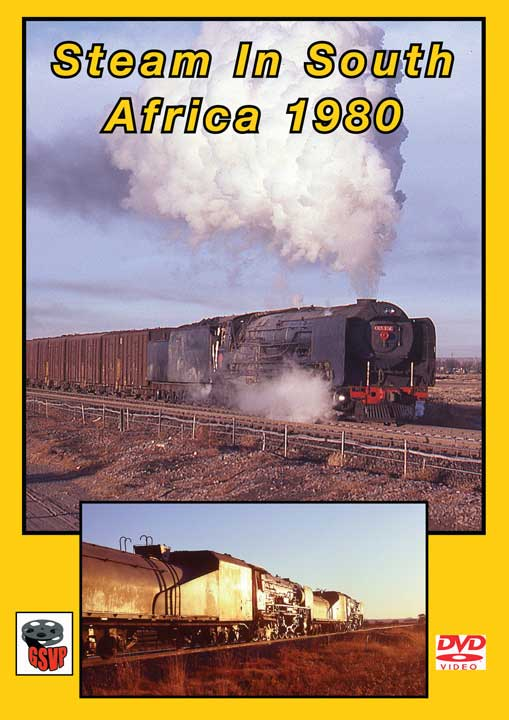 Steam in South Africa 1980 DVD Train Video Greg Scholl Video Productions GSVP-053 604435005397