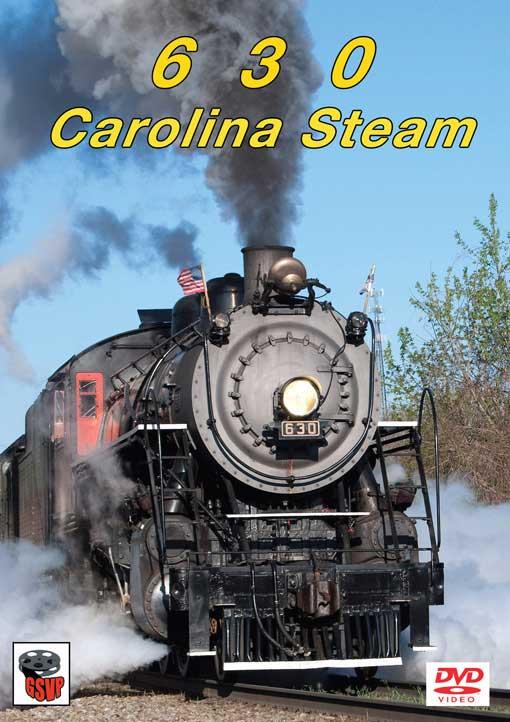 630 Carolina Steam DVD Greg Scholl Video Productions GSVP-054 604435005496