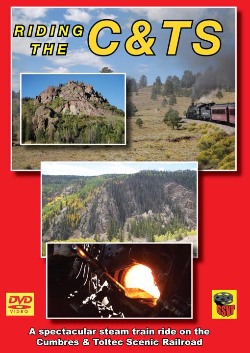 Riding the C&TS DVD Train Video Greg Scholl Video Productions GSVP-063 604435006394