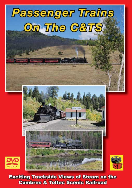 Passenger Trains on the C&TS DVD Greg Scholl Video Productions GSVP-064 604435006493