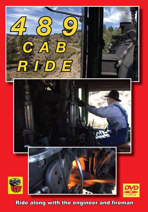 489 Cab Ride DVD Train Video Greg Scholl Video Productions GSVP-066 604435006691