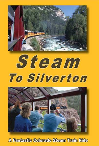Steam to Silverton - A Fantastic Colorado Steam Train Ride DVD Greg Scholl Video Productions GSVP-077 304435007797