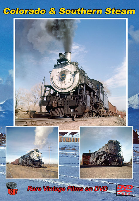 Colorado and Southern Steam Train Video Greg Scholl Video Productions GSVP-107 604435000798