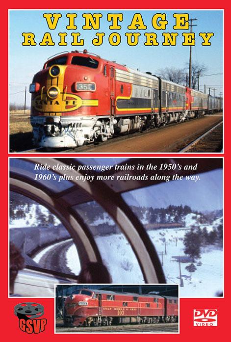 Vintage Rail Journey DVD Train Video Greg Scholl Video Productions GSVP-108 604435000897