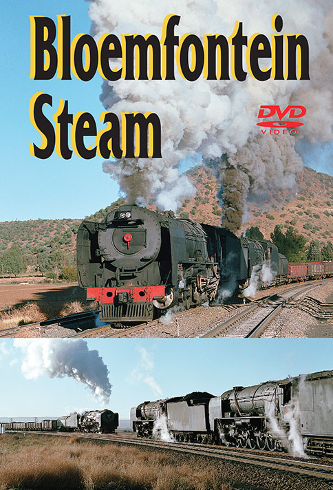 Bloemfontein - South African Steam Collection by Greg Scholl Train Video Greg Scholl Video Productions GSVP-153 604435015396