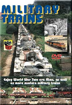 Military Trains Troop Trains and Hospital Trains DVD Greg Scholl Greg Scholl Video Productions GSVP-502 604435050298