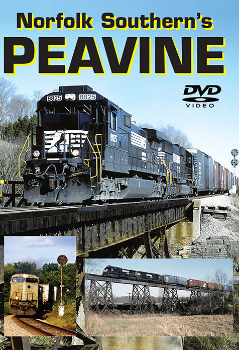 Norfolk Southerns Peavine Vol 1 Greg Scholl Video Productions GSVP-PEA1 604435015792