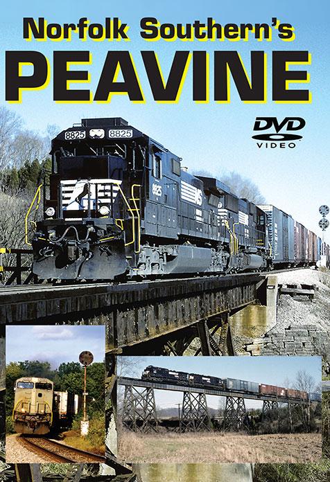 Norfolk Southerns Peavine Vol 1 Greg Scholl Video Productions GSVP-PEA1 604435015792