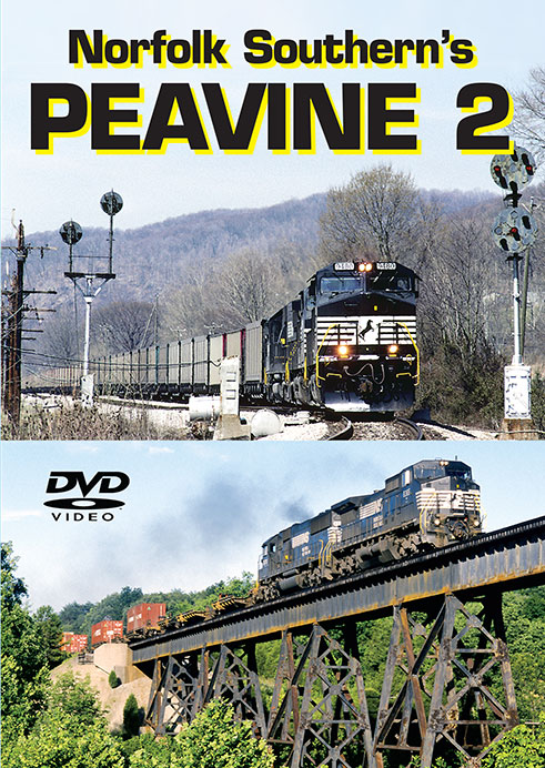 Norfolk Southerns Peavine Vol 2 Train Video Greg Scholl Video Productions GSVP-PEA2 604435015891