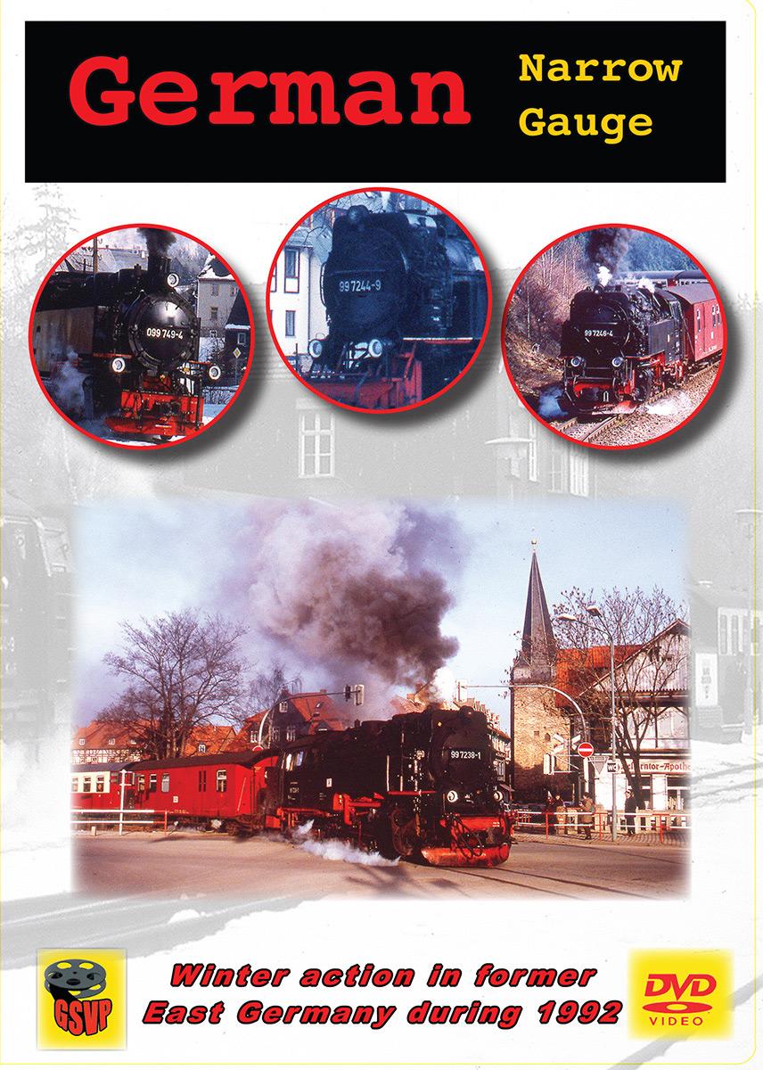 German Narrow Gauge DVD Greg Scholl Video Productions GSVP-211