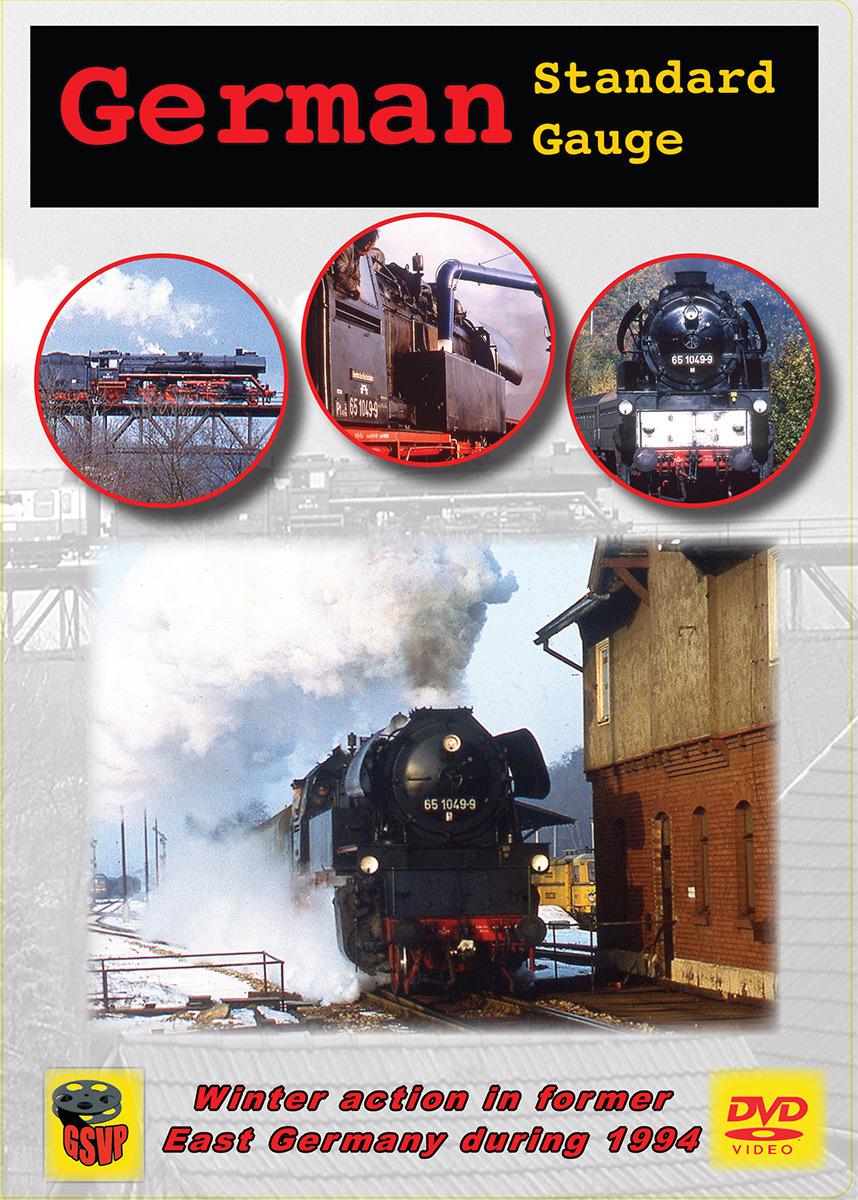 German Standard Gauge DVD Greg Scholl Video Productions GSVP-213 604435021397