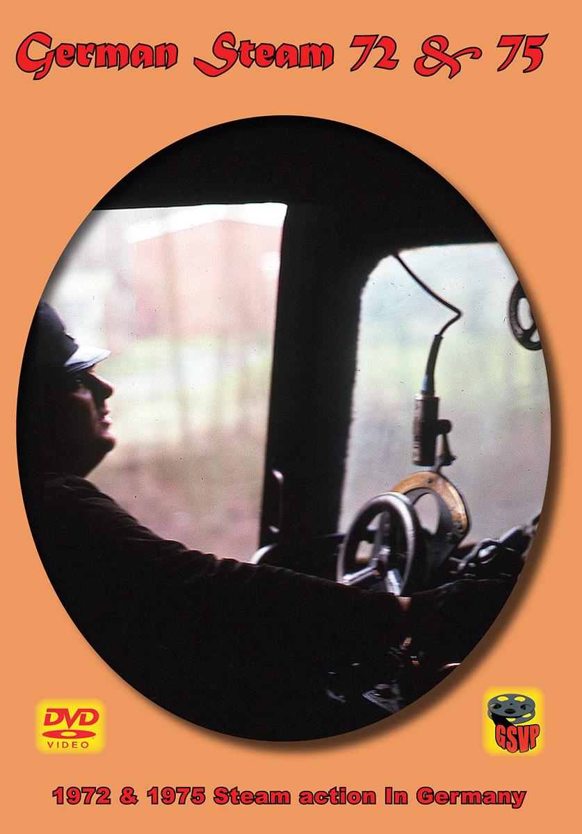 German Steam 1972 & 1975 DVD Greg Scholl Video Productions GSVP-192 604435019295