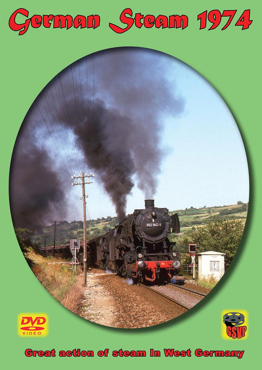 German Steam 1974 DVD Greg Scholl Video Productions GSVP-190 604435019097