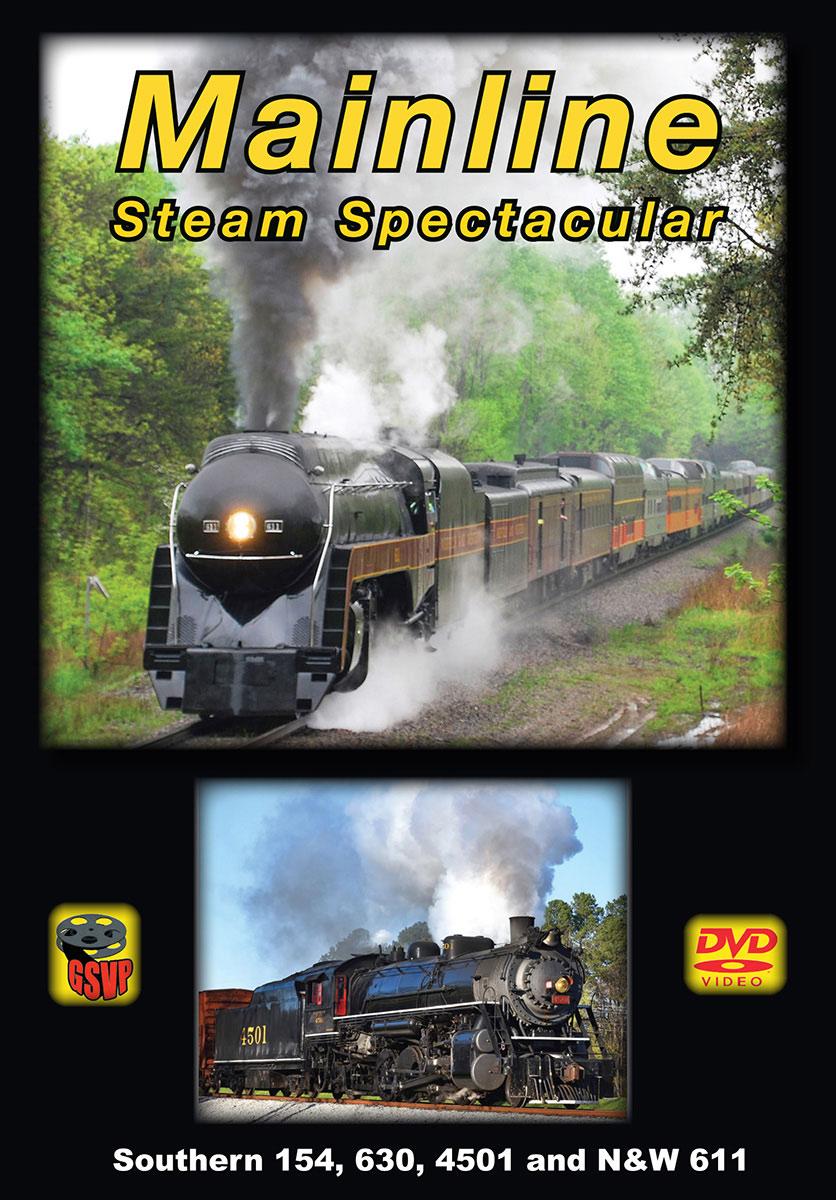 Mainline Steam Spectacular DVD Greg Scholl Video Productions GSVP-201 604435020192