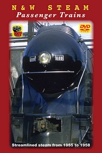 Norfolk & Western Steam Passenger Trains DVD
