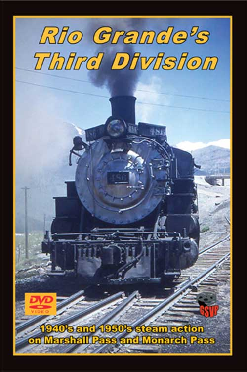 Rio Grandes Third Division DVD Train Video Greg Scholl Video Productions GSVP-081 604435008190
