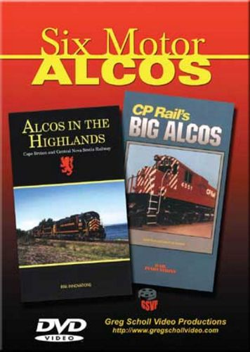 Six Motor Alcos on DVD Train Video Greg Scholl Video Productions SIXMOTOR