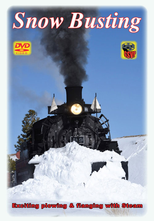 Snow Busting Steam DVD Train Video Greg Scholl Video Productions GSVP-086 604435008695