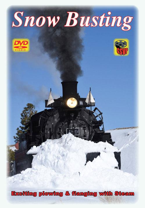 Snow Busting Steam DVD Greg Scholl Video Productions GSVP-086 604435008695