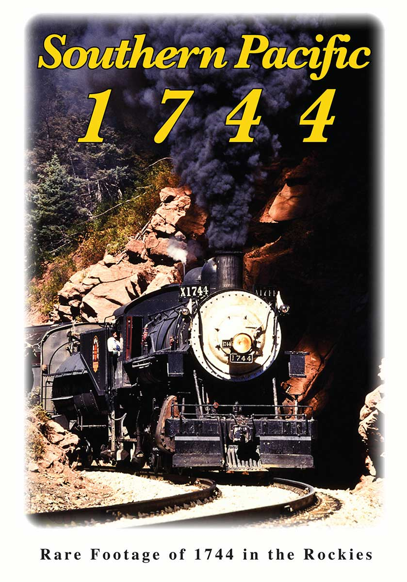 Southern Pacific 1744 DVD Greg Scholl Video Productions GSVP-226 604435022691