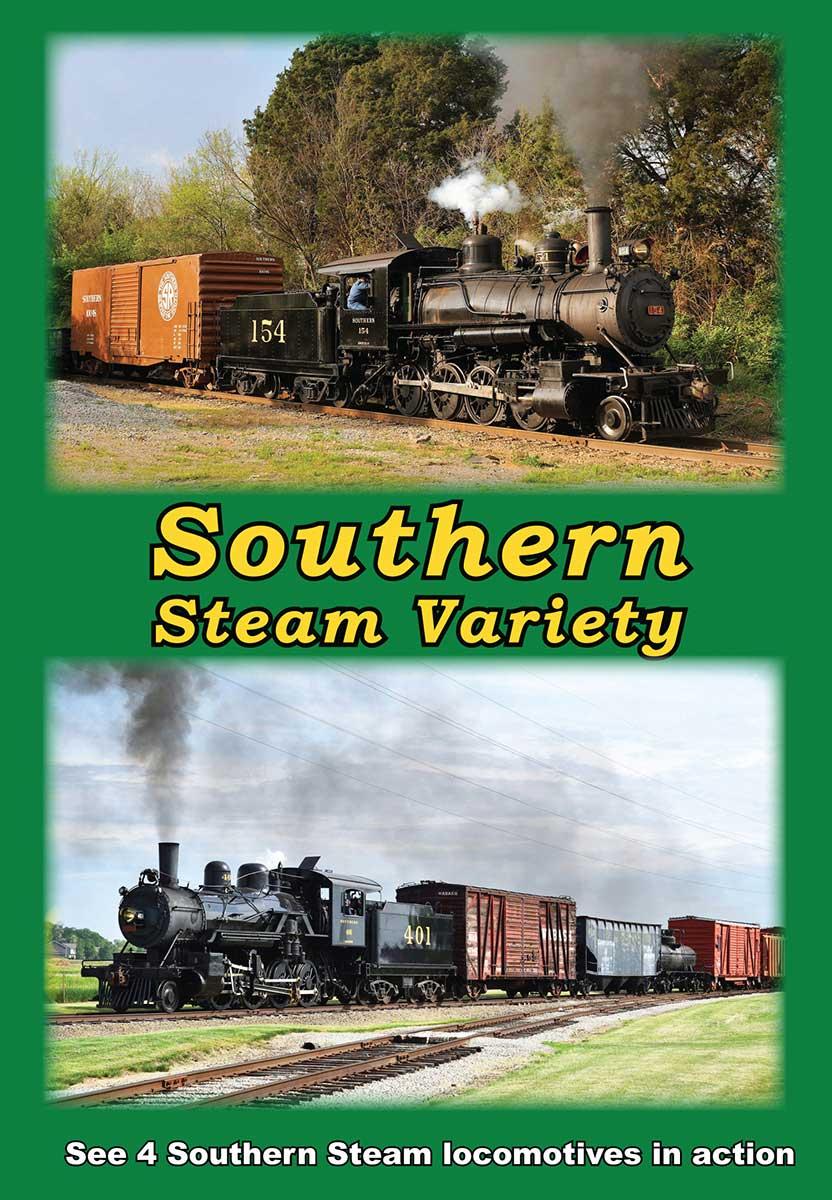 Southern Steam Variety DVD Greg Scholl Video Productions SSVD