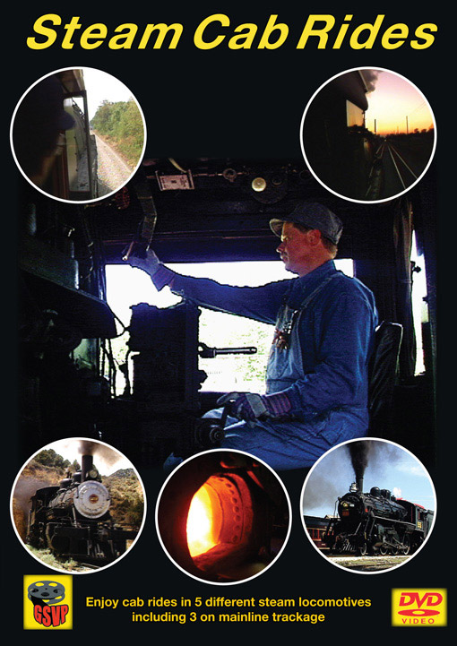 Steam Cab Rides DVD Greg Scholl Video Productions GSVP-179 604435017994