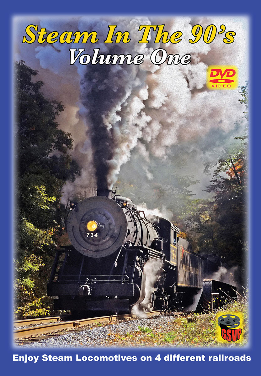 Steam in the 90s Volume 1 DVD Greg Scholl Video Productions GSVP-403