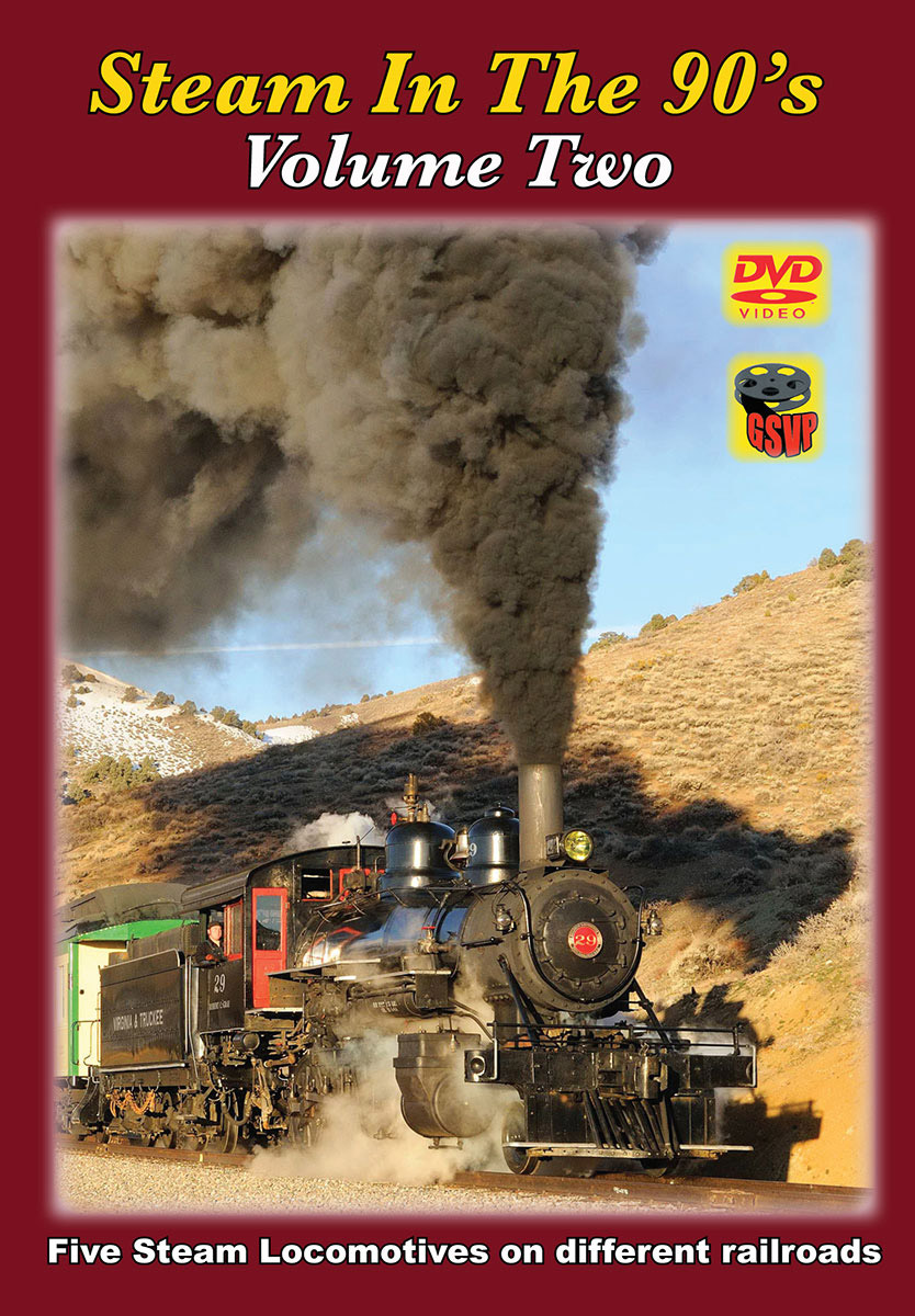 Steam in the 90s Volume 2 DVD Greg Scholl Video Productions GSVP-404