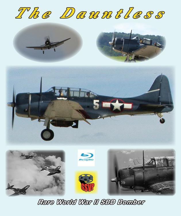 The Dauntless Rare World War II SBD Bomber DVD Train Video Greg Scholl Video Productions GSVP-512 604435051295