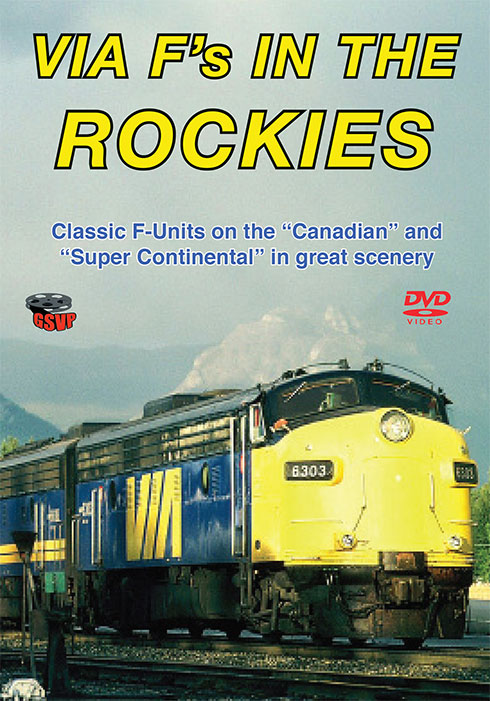 Via Fs in the Rockies DVD Greg Scholl Train Video Greg Scholl Video Productions VIAF
