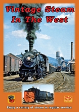 Vintage Steam in the West DVD