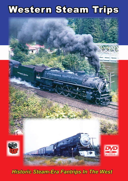 Western Steam Trips DVD Train Video Greg Scholl Video Productions GSVP-099 604435009999