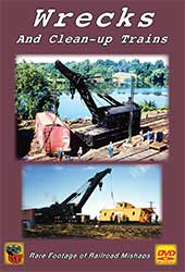 Wrecks and Clean-Up Trains DVD