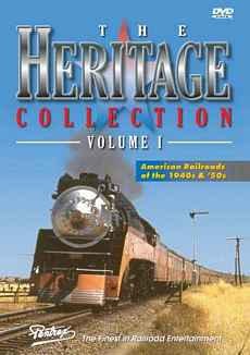 Heritage Collection Volume 1 DVD Train Video Pentrex HC1-DVD 748268004889