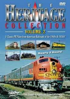 Heritage Collection Volume 2 DVD Train Video Pentrex HC2-DVD 748268004964