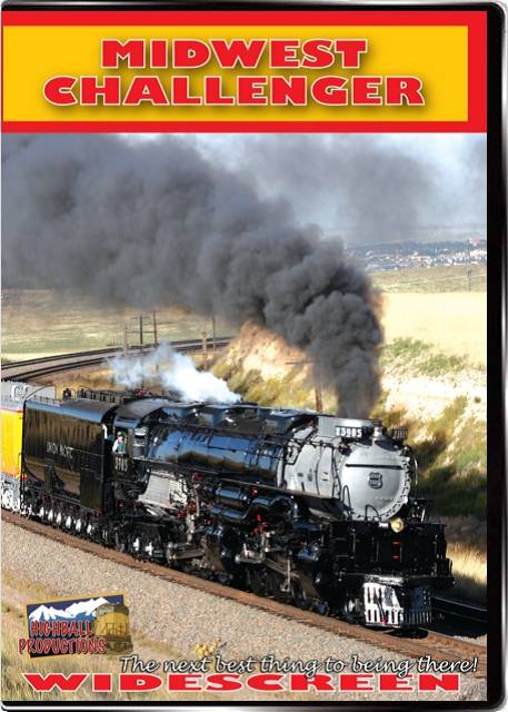 Midwest Challenger - Union Pacific 3985 DVD Train Video Highball Productions 3985W