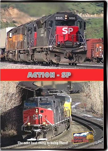 Action SP - Southern Pacifc at merger time DVD Train Video Highball Productions ACSP 181729001216