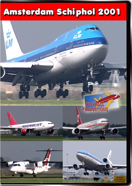 Amsterdam Schiphol 2001 DVD Highball Productions AMS01