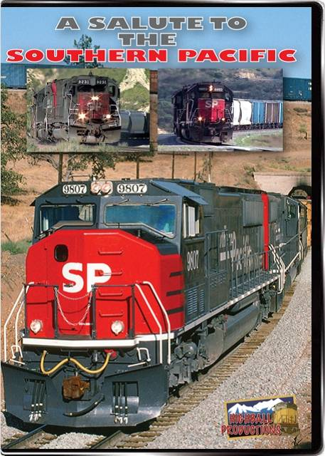 A Salute to the Southern Pacific DVD Train Video Highball Productions ASSP