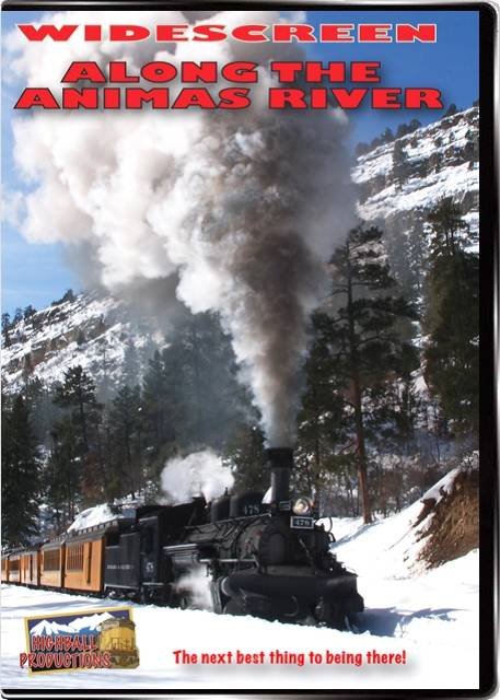 Along the Animas River - Action on the Durango & Silverton DVD Train Video Highball Productions ATAW-DVD
